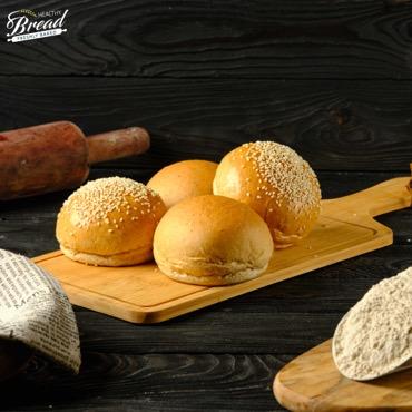 Whole wheat Bun رول النخالة